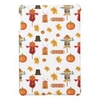 Thanksgiving pattern iPad mini case