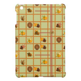 Thanksgiving Pattern iPad Mini Cover