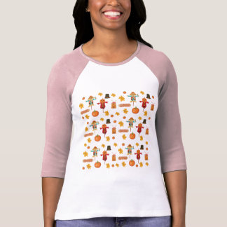 Thanksgiving pattern T-Shirt