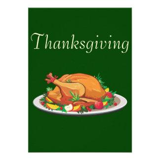 Thanksgiving Personalized Invitation