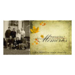 thanksgiving Photcard Photo Card