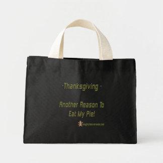 Thanksgiving Pie Mini Tote Bag