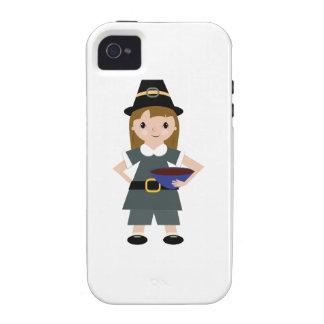 Thanksgiving Pilgrim Vibe iPhone 4 Covers