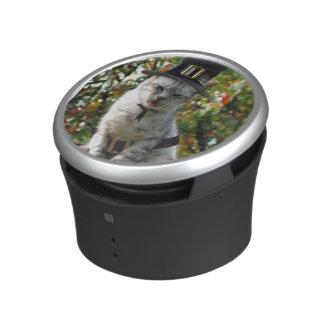 Thanksgiving Pilgrim Cat Bluetooth Speaker