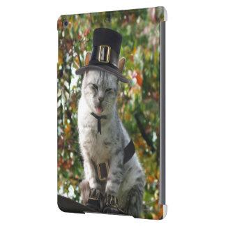 Thanksgiving Pilgrim Cat Case For iPad Air
