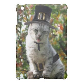 Thanksgiving Pilgrim Cat Cover For The iPad Mini