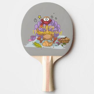 Thanksgiving Ping Pong Paddle