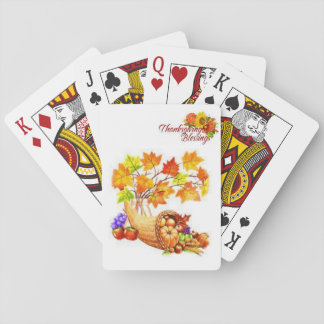Thanksgiving Playing Card Deck