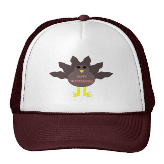 Thanksgiving Plucked Turkey Hat
