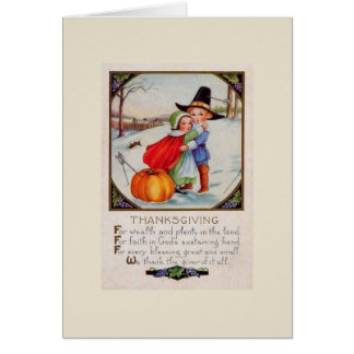Thanksgiving Prayer, Card