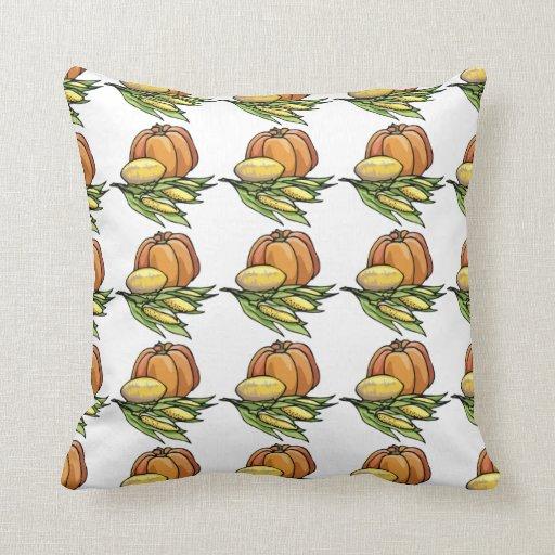 Thanksgiving Pumpkin Pillow
