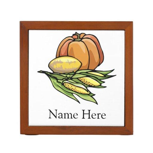 Thanksgiving Pumpkin Pencil Holder