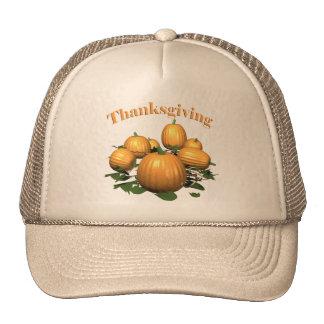 Thanksgiving Pumpkin Patch Hat