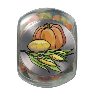 Thanksgiving Pumpkin Jelly Belly Candy Jars