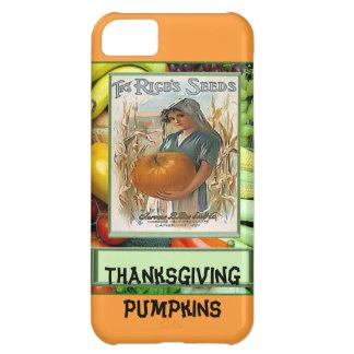 Thanksgiving Pumpkins iPhone 5C Cases