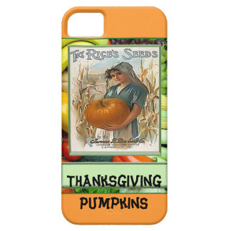 Thanksgiving Pumpkins iPhone 5 Cases