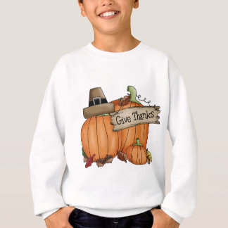 Thanksgiving Pumpkins / Give Thanks Sweatshirt