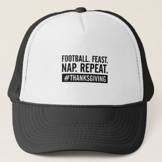 Thanksgiving Repeat Trucker Hat