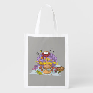 Thanksgiving Reusable Grocery Bag
