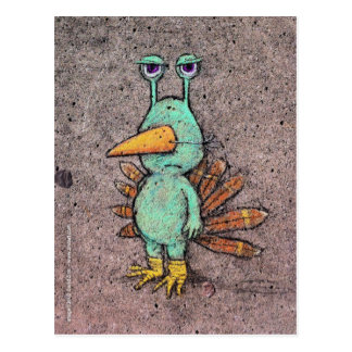 thanksgiving slurkey postcard
