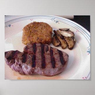 Thanksgiving Steak Risotto Print