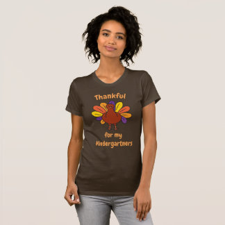 Thanksgiving Teacher Kindergarten Elementary T-Shirt