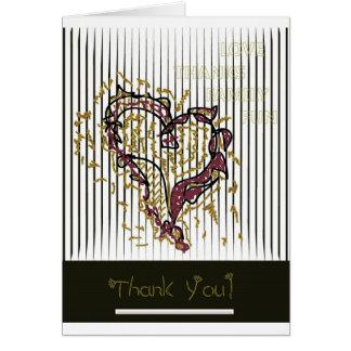 Thanksgiving Thank You Card