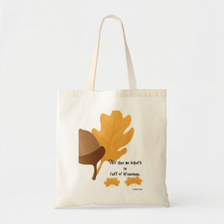Thanksgiving tote canvas bag
