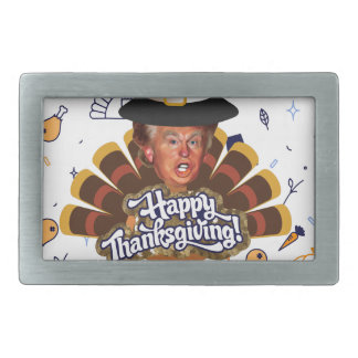"""thanksgiving trump turkey belt buckles"