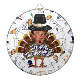 """thanksgiving trump turkey dartboard"
