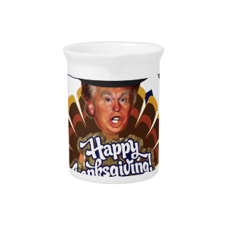 """thanksgiving trump turkey pitcher"