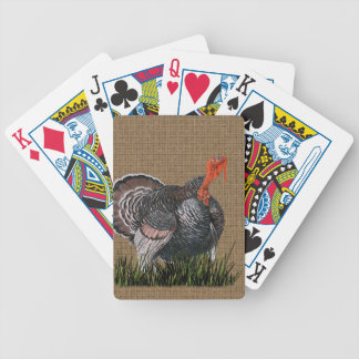 Thanksgiving Turkey Bicycle Playing Cards