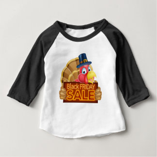 Thanksgiving Turkey Black Friday Sale Sign Baby T-Shirt