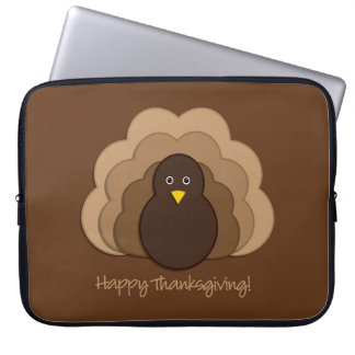 Thanksgiving turkey computer sleeves