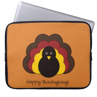 Thanksgiving turkey computer sleeves