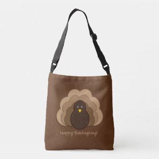 Thanksgiving turkey crossbody bag