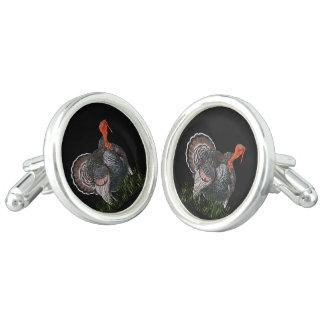 Thanksgiving Turkey Cuff Links
