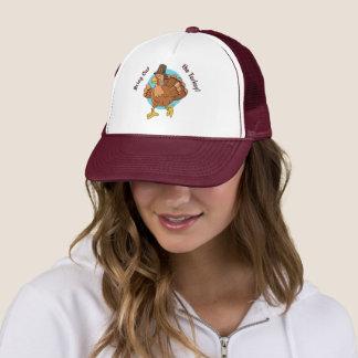 Thanksgiving Turkey custom text hats