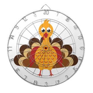 Thanksgiving Turkey Dartboard