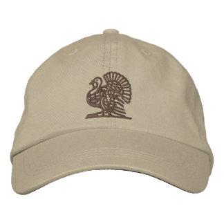 Thanksgiving Turkey Embroidered Hat