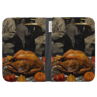 Thanksgiving Turkey for US Military Servicemen Kindle 3G Cover