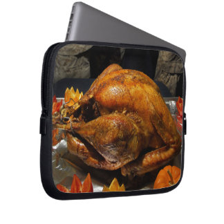 Thanksgiving Turkey for US Military Servicemen Computer Sleeve