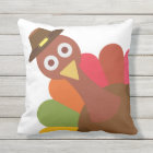 Thanksgiving Turkey. Funny. Humour. Outdoor Cushion