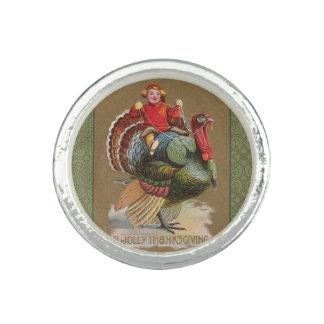 Thanksgiving Turkey Funny Vintage Greetings