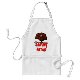 Thanksgiving Turkey - In EVERYTHING Give Thanks Standard Apron