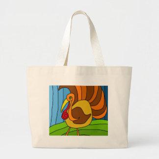 Thanksgiving turkey jumbo tote bag