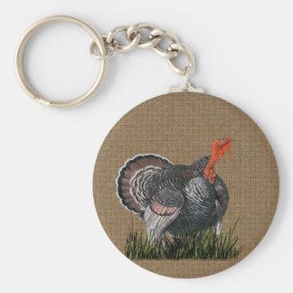 Thanksgiving Turkey Key Ring