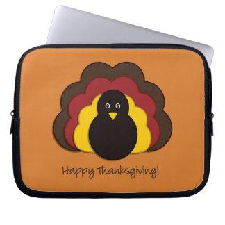 Thanksgiving turkey laptop sleeve