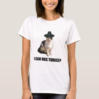Thanksgiving Turkey Lolcat T-Shirt