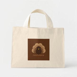 Thanksgiving turkey mini tote bag